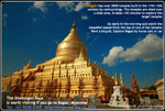 Bagan's famous Shwezigon Paya pagoda, Mynamar, designtravelpl.com  +65 9668-6468