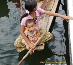 Lake Inle, Myanmar. Villagers appreciate tourism revenue to support their families. Asiahomes.com Travels and Tours