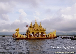 Inle Lake Festival occurs in Oct of the year. Myanmar's international tourism attraction