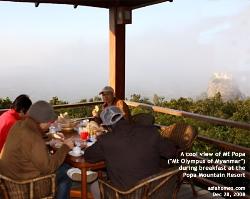 Mt Popa, Mahagiri Shrine, Monkeys, Myanmar. Asiahomes Travel.