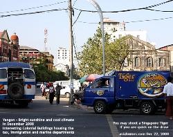 Myanmar - Yangon - Magnificent Colonial Buildings, Asiahomes.com