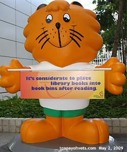 Singapore's National Library Visual Educational Aid. Asiahomes.com