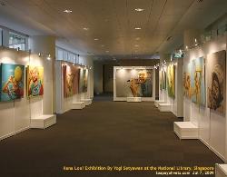Indonesian Artist - Yogi Setyawan's Kena Loe! Exhibition, Singapore, Toa Payoh Vets