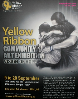 Yellow Ribbon Community Art Exhibition. Singapore Art Museum.  Toa Payoh Vets.