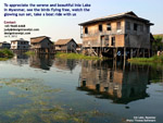 inle lake houses, serene waters, designtravelpl.com