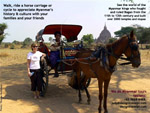 2000 temples and stupas, rich history of Bagan, ride a horse carriage, designtravelpl.com